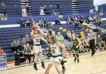 Lady Rockets lose, 44-28, against Athens