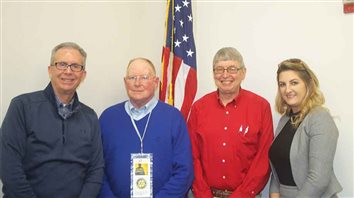 Jackson Rotarians showered with Presidential trivia