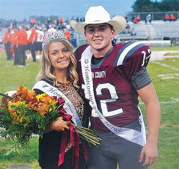 Vinton County High School Homecoming queen, king reigns